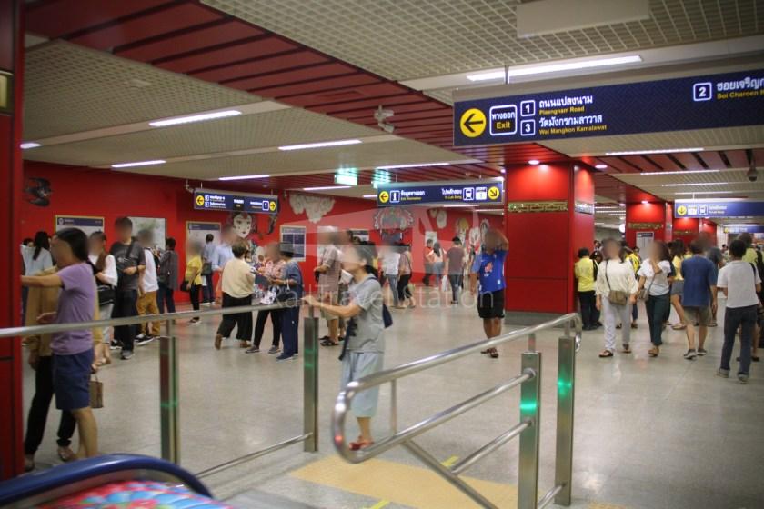 MRT Blue Line Hua Lamphong Tha Phra Extension 034