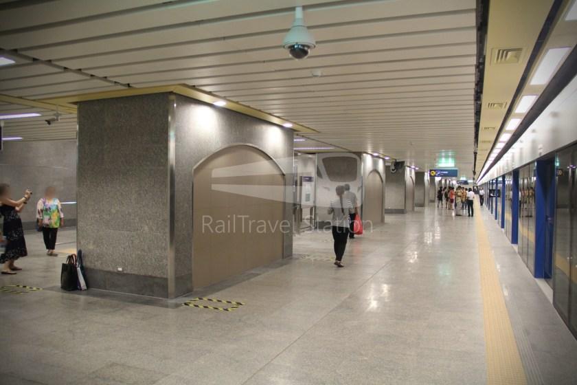 MRT Blue Line Hua Lamphong Tha Phra Extension 051