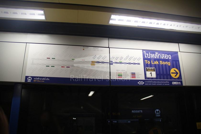 MRT Blue Line Hua Lamphong Tha Phra Extension 054
