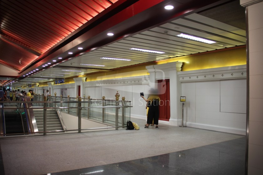 MRT Blue Line Hua Lamphong Tha Phra Extension 059