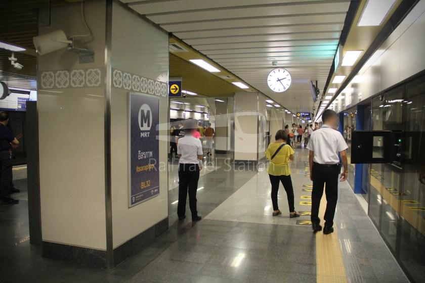 MRT Blue Line Hua Lamphong Tha Phra Extension 067