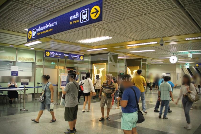 MRT Blue Line Hua Lamphong Tha Phra Extension 071