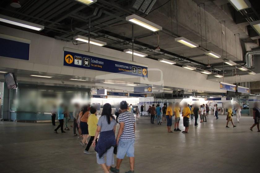 MRT Blue Line Hua Lamphong Tha Phra Extension 096