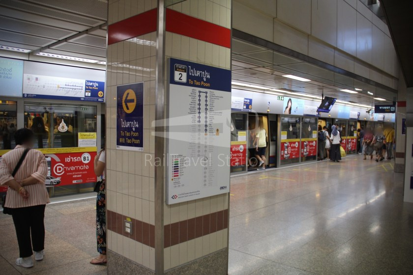 MRT Blue Line Hua Lamphong Tha Phra Extension 123
