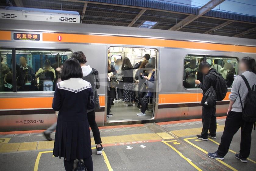 Musashino Line 205 Nishi-Funabashi Tokyo 002