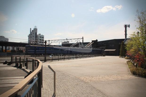Shimo-Imaichi SL Exhibition Hall and Turntable Square 019