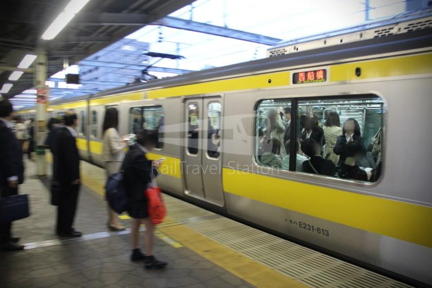 Sobu Line Tokyo Nishi-Funabashi 010