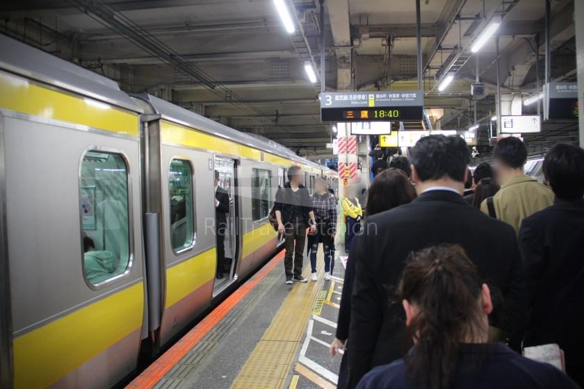 Sobu Line Tokyo Nishi-Funabashi 018