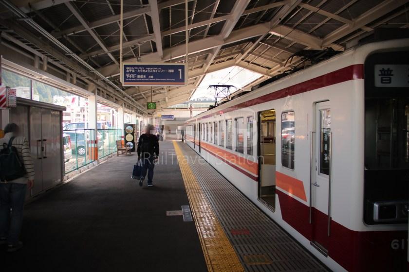 Tobu Nikko Line Local Shimo-Imaichi Tobu-Nikko 034