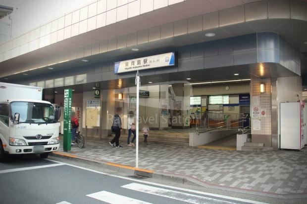 Tobu Skytree Line Local Higashi-Mukojima Asakusa 003
