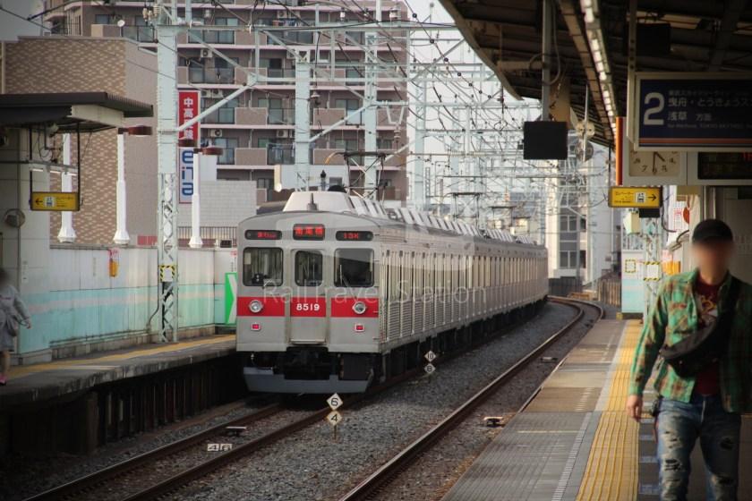 Tobu Skytree Line Local Higashi-Mukojima Asakusa 010