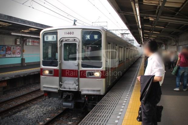 Tobu Skytree Line Local Higashi-Mukojima Asakusa 014