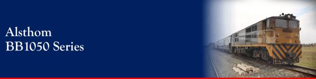 Banner Loco Alsthom BB1050 001
