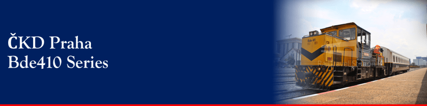 Banner Loco CKD Bde410 001