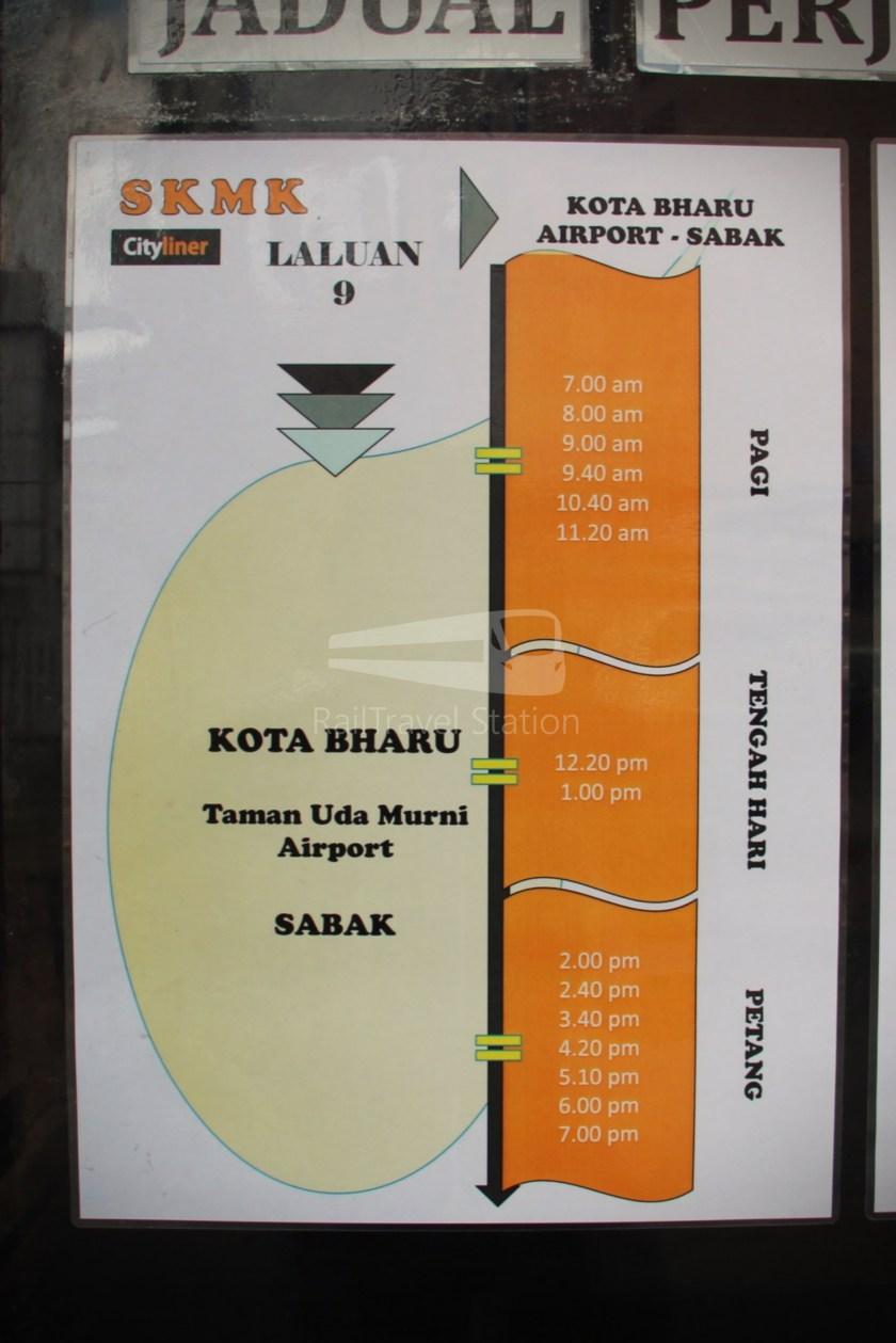 Cityliner Service 9 Failed Kota Bharu Airport 002