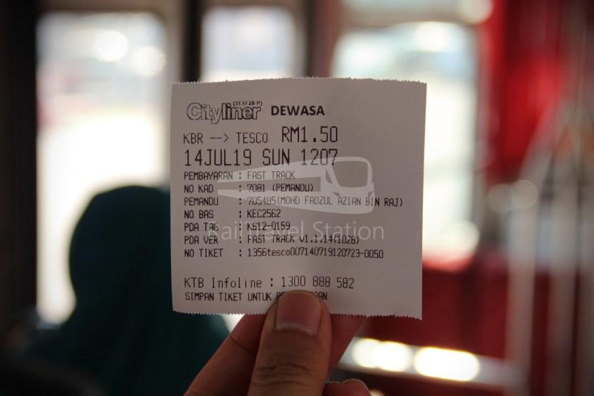 Cityliner Service TESCO Kota Bharu AEON TESCO KB Mall 007