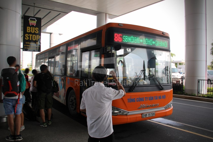 Hanoibus Airport Bus 86 Noi Bai International Airport Hanoi Railway Station 05