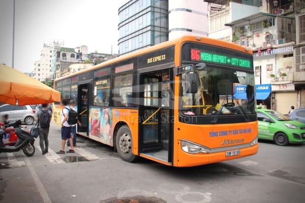 Hanoibus Airport Bus 86 Noi Bai International Airport Hanoi Railway Station 24