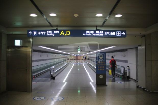 AREX Express Train Incheon International Airport Terminal 1 Seoul Station 003