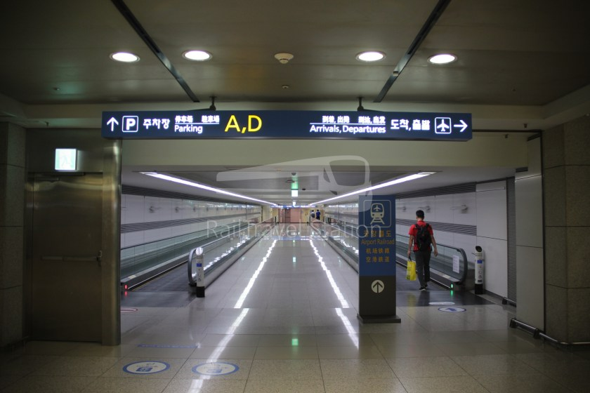 AREX Express Train Incheon International Airport Terminal 1 Seoul Station 003