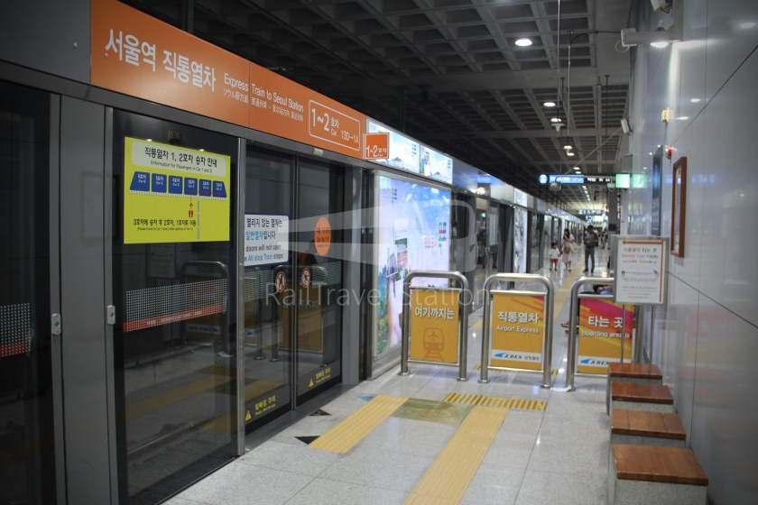 AREX Express Train Incheon International Airport Terminal 1 Seoul Station 026