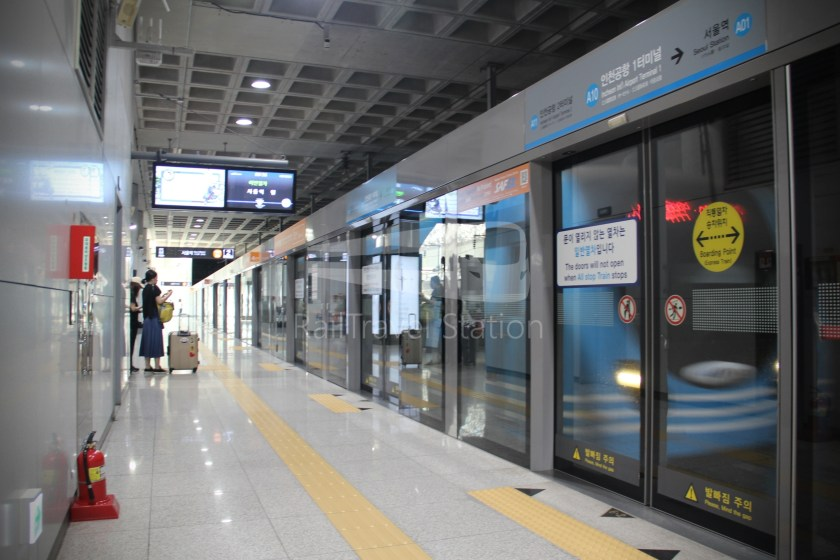 AREX Express Train Incheon International Airport Terminal 1 Seoul Station 030