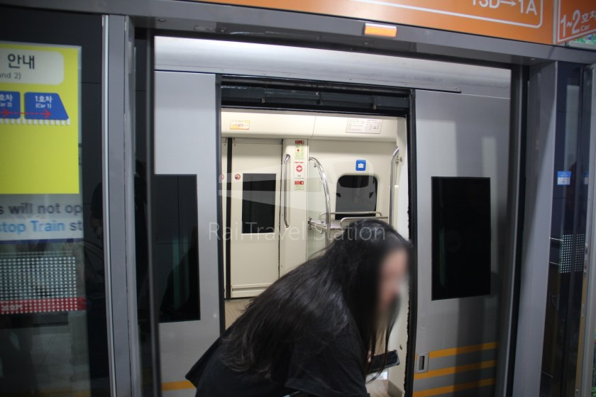 AREX Express Train Incheon International Airport Terminal 1 Seoul Station 036