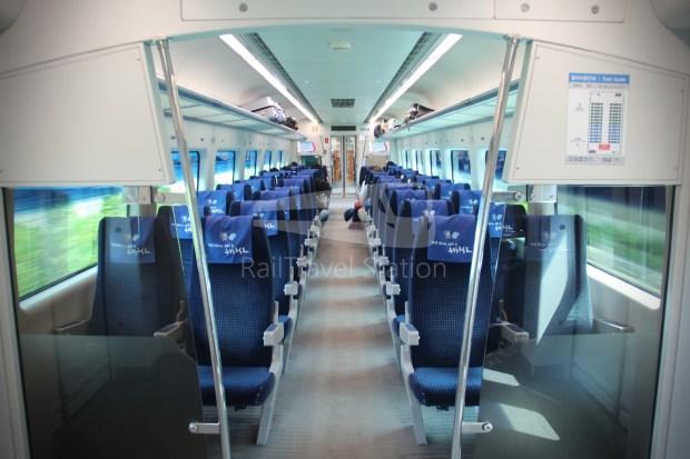 AREX Express Train Incheon International Airport Terminal 1 Seoul Station 049