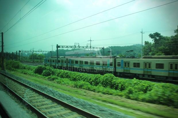 AREX Express Train Incheon International Airport Terminal 1 Seoul Station 063
