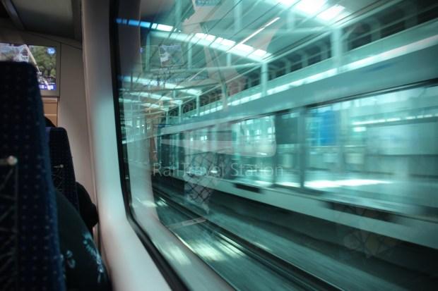 AREX Express Train Incheon International Airport Terminal 1 Seoul Station 066