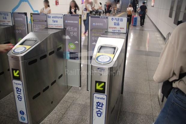 AREX Express Train Incheon International Airport Terminal 1 Seoul Station 092
