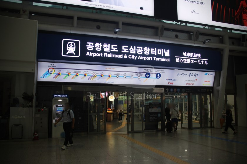 AREX Express Train Seoul Station Incheon International Airport Terminal 1 004