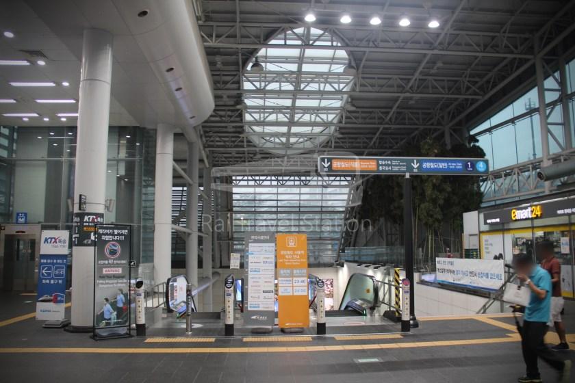 AREX Express Train Seoul Station Incheon International Airport Terminal 1 007