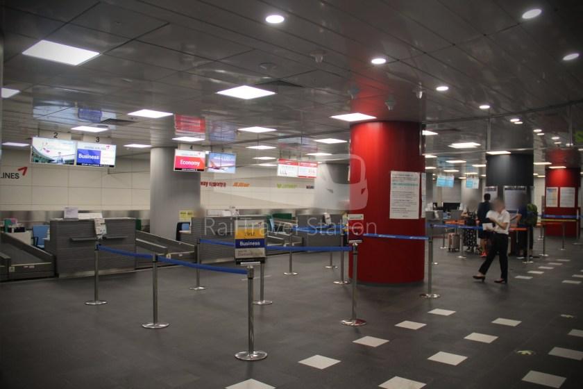 AREX Express Train Seoul Station Incheon International Airport Terminal 1 017