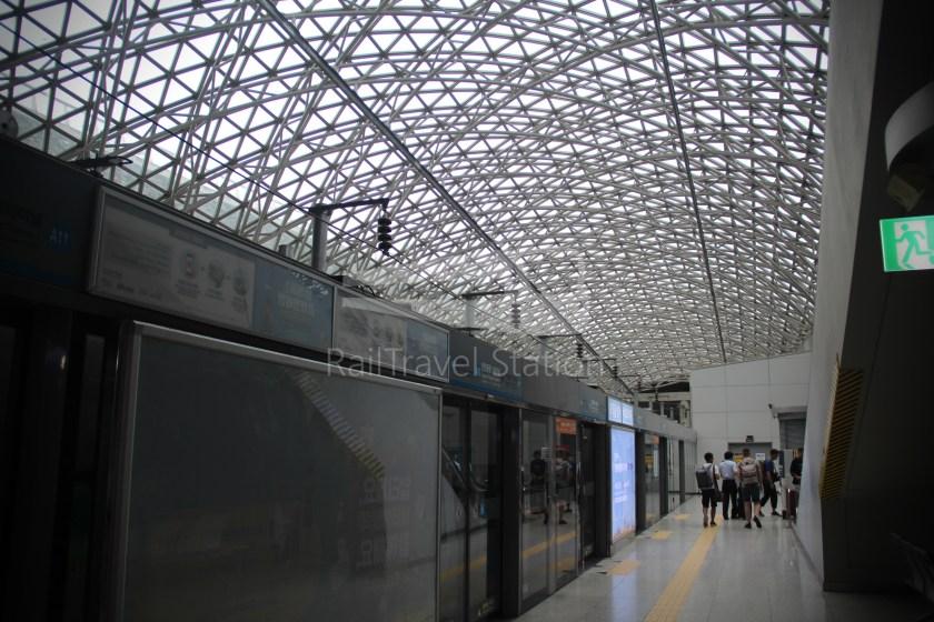 AREX Express Train Seoul Station Incheon International Airport Terminal 1 048