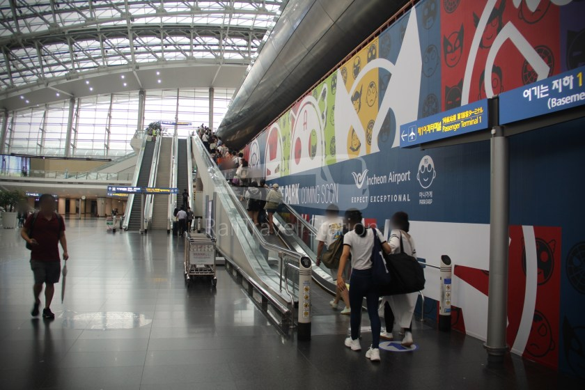 AREX Express Train Seoul Station Incheon International Airport Terminal 1 057