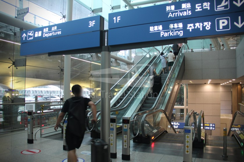 AREX Express Train Seoul Station Incheon International Airport Terminal 1 064