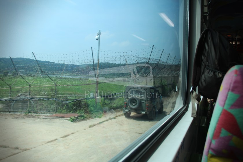 DMZ Train 4887 Seoul Dorasan 111