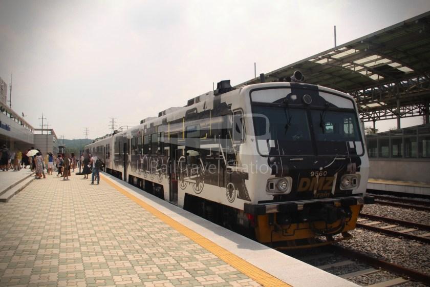 DMZ Train 4887 Seoul Dorasan 133