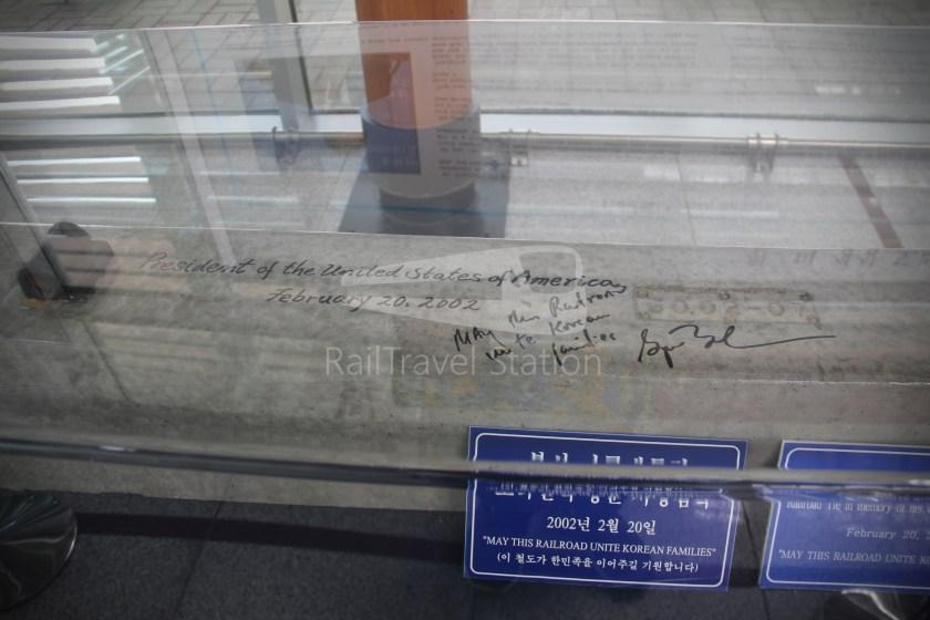 DMZ Train 4887 Seoul Dorasan 161