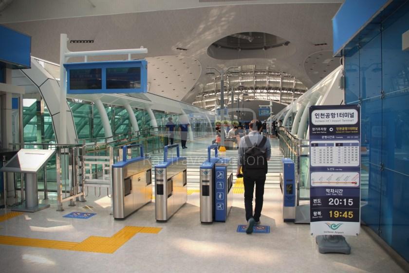 Incheon Airport Maglev Incheon International Airport Terminal 1 Yongyu 002