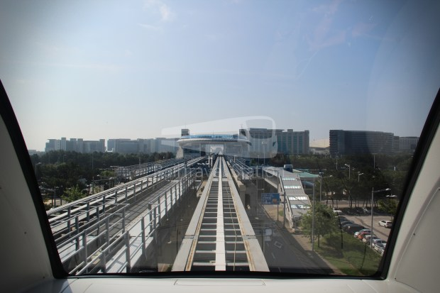 Incheon Airport Maglev Incheon International Airport Terminal 1 Yongyu 012