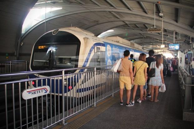 SARL City Line Phaya Thai Suvarnabhumi Airport 007