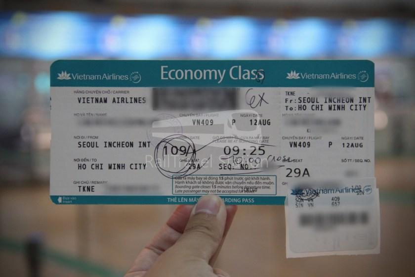 Vietnam Airlines VN409 ICN SGN 006