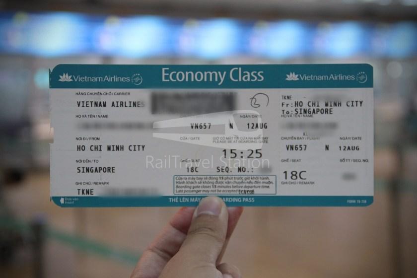 Vietnam Airlines VN409 ICN SGN 007
