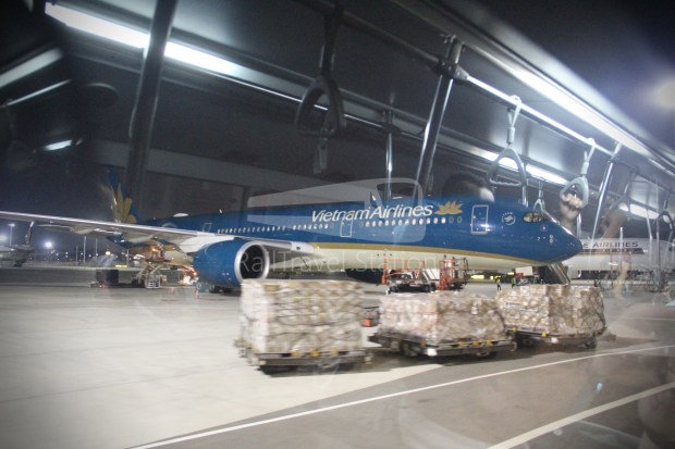 Vietnam Airlines VN656 SIN SGN for ICN 054
