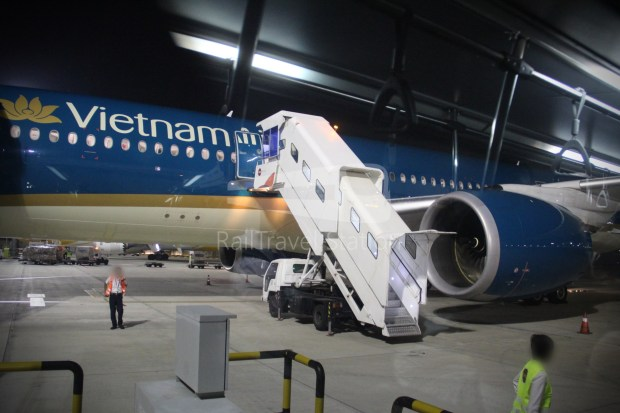 Vietnam Airlines VN656 SIN SGN for ICN 056