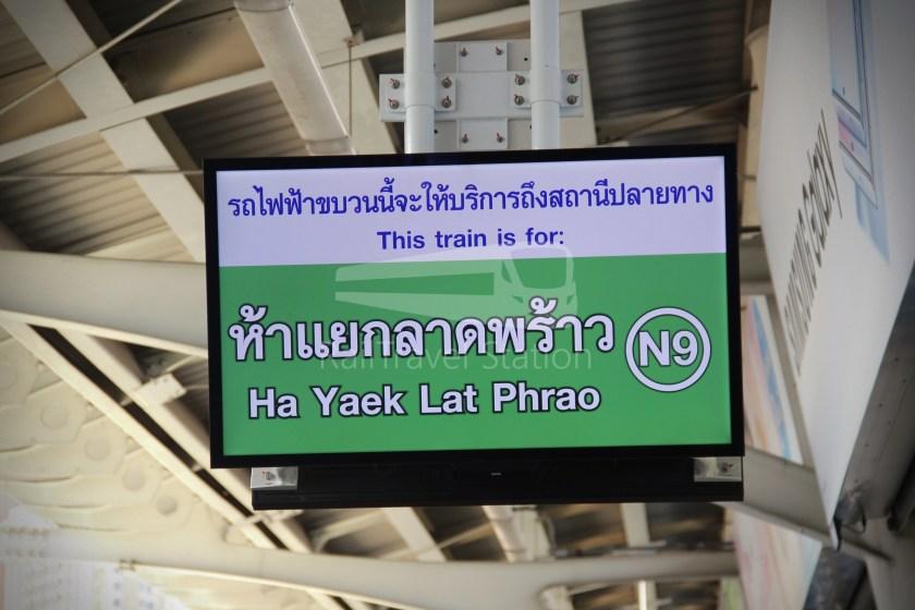 BTS Sukhumvit Line Ha Yaek Lat Phrao Extension 007