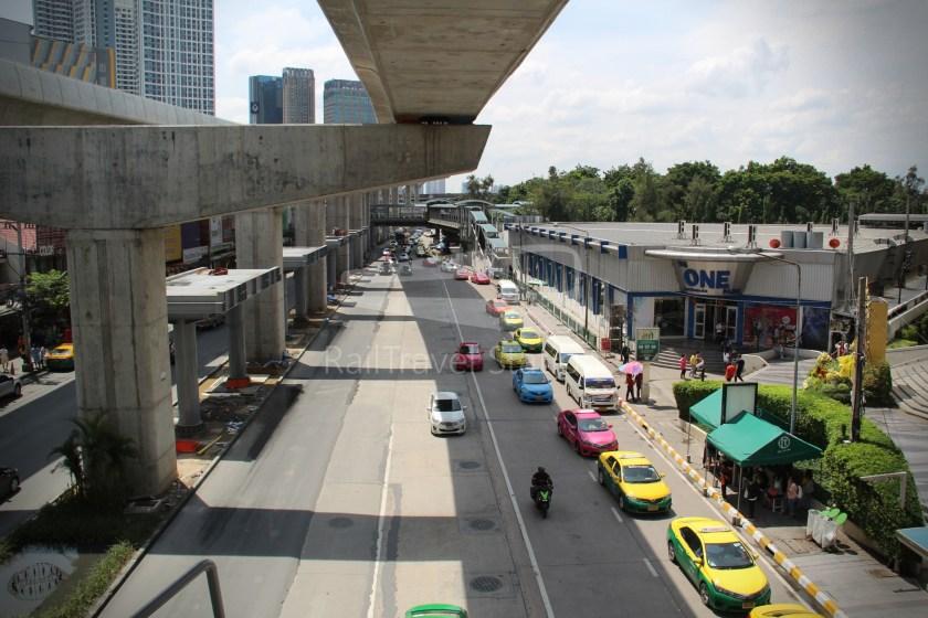 BTS Sukhumvit Line Ha Yaek Lat Phrao Extension 057