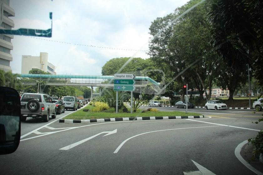 Brunei-Muara Service 01C BSB Bus Terminal Clockwise 018
